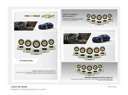 Chevy JD Power Print Ads